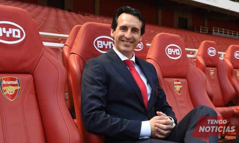 Emery defiende a la estrella del Arsenal tras ser abucheado por sus propios seguidores 1