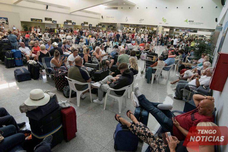 El colapso de Thomas Cook golpea a los turistas en las Islas Baleares y Canarias de España