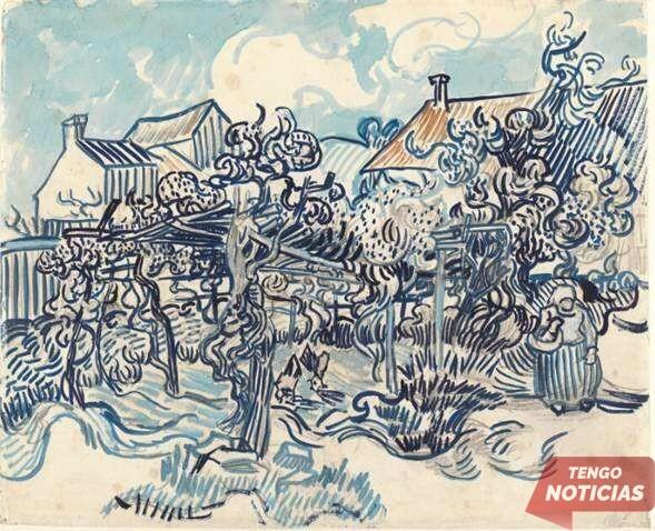 Usan inteligencia artificial para reconstruir dibujos deteriorados de Van Gogh 1