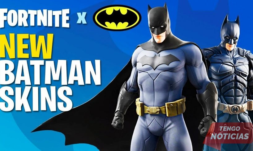 El crossover de Fortnite Batman ya ha llegado 1