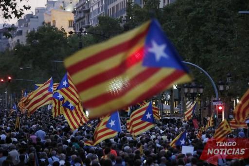 """Los separatistas instan a la """"desobediencia civil"""" si los líderes catalanes son condenados 1"""