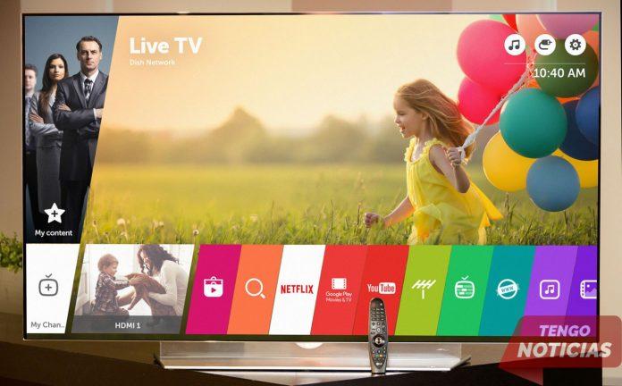 Como instalar aplicaciones Smart TV LG 5