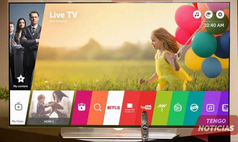 Como instalar aplicaciones Smart TV LG 1