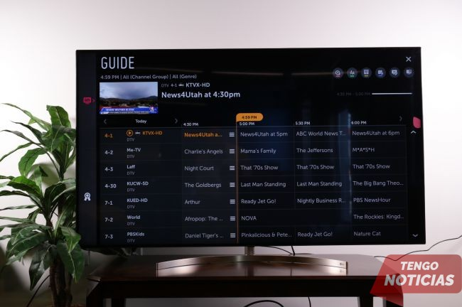 Cómo configurar / sintonizar canales en tu Smart TV LG 7