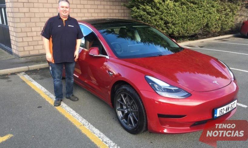 Empiezan las entregas del Tesla Model 3 en Irlanda 1