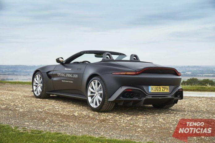 Aston Martin muestra las primeras imágenes del Vantage Roadster 1