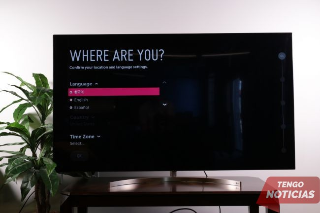 Cómo configurar tu Smart TV LG 3