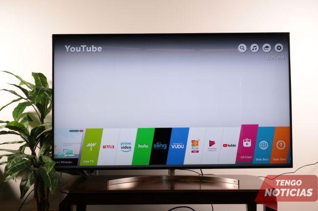 Como instalar aplicaciones Smart TV LG 2