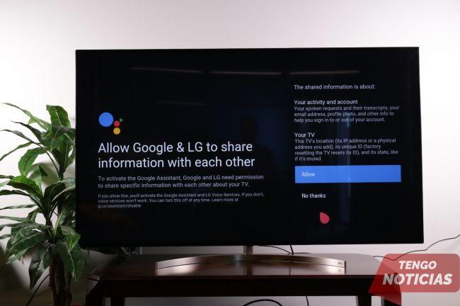 Como configurar control por voz de tu Smart TV LG 4