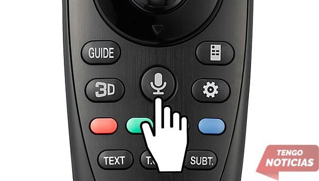 Como configurar control por voz de tu Smart TV LG 7