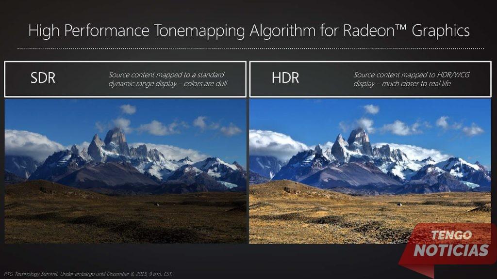 Qué es el HDR y cuando usarlo 1