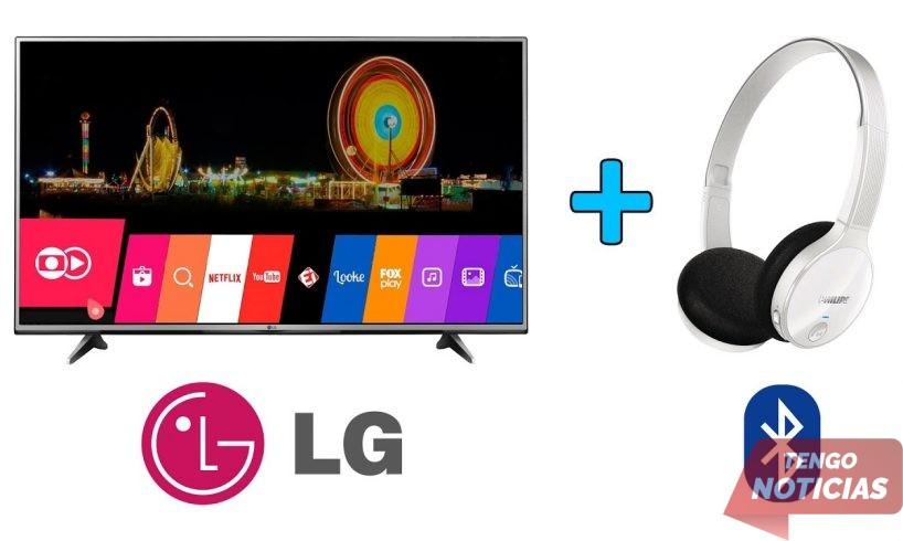 Como conectar Bluetooth a TV LG 1