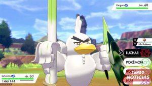Sirfetch'd viene exclusivamente en Pokemon Espada