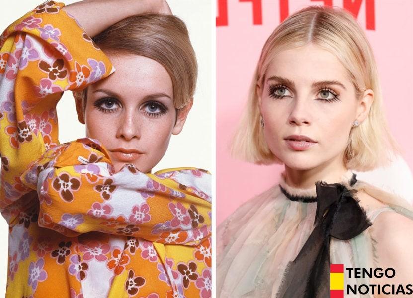 Las tendencias de belleza más TOP en este momento son los estilos retro de los años 60 4
