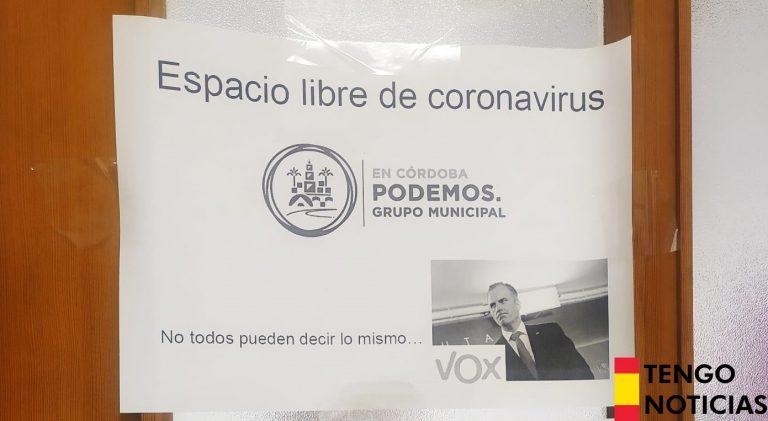 Podemos se ríe de Javier Ortega Smith por contagiarse de Coronavirus