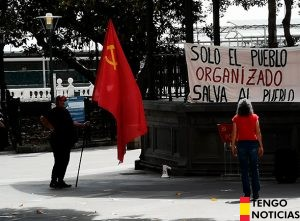 FOTOS: Fracaso de una manifestación comunista en Las Palmas de Gran Canaria