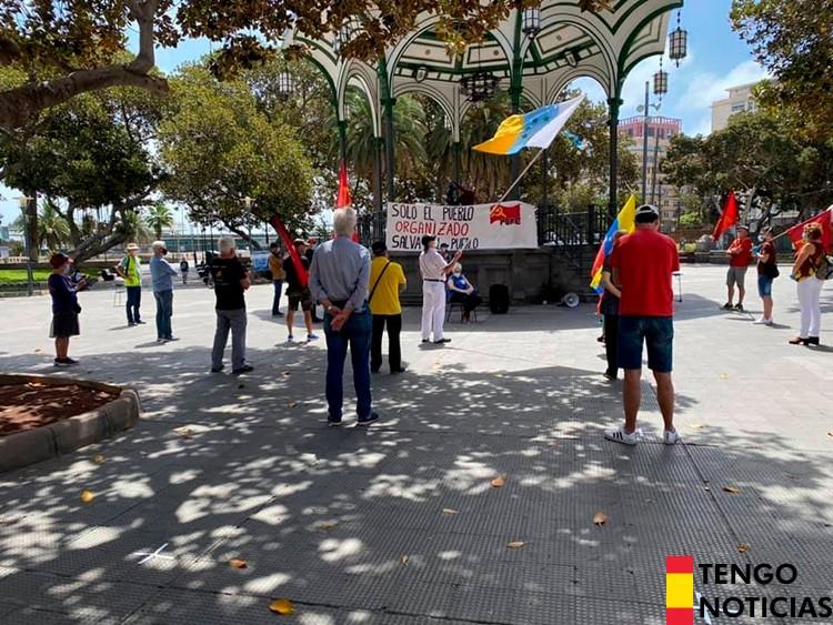 FOTOS: Fracaso de una manifestación comunista en Las Palmas de Gran Canaria 3