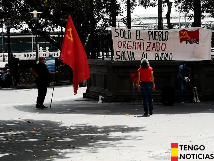 FOTOS: Fracaso de una manifestación comunista en Las Palmas de Gran Canaria 1