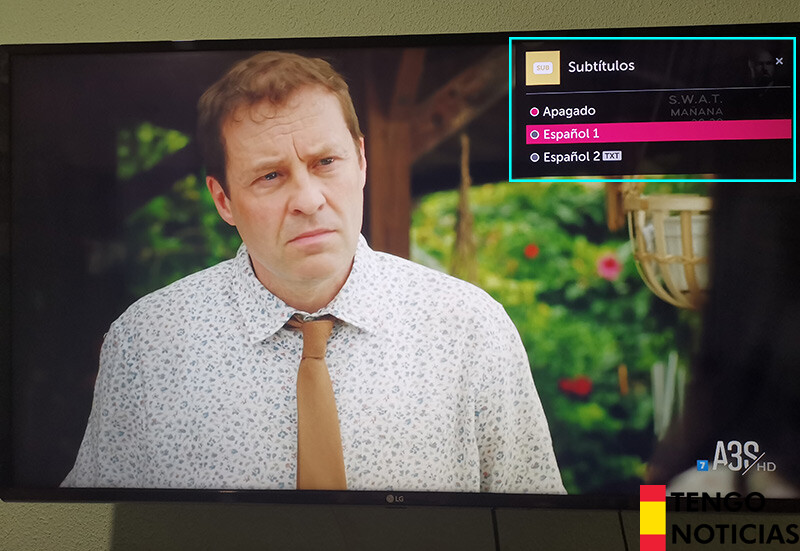 Cómo activar los subtítulos en TV LG 1