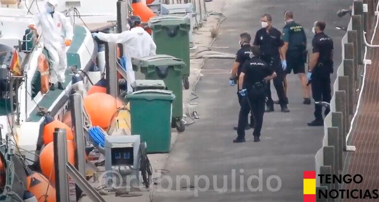 Video muestra como quedan en libertad los inmigrantes ilegales que llegan a nuestras costas