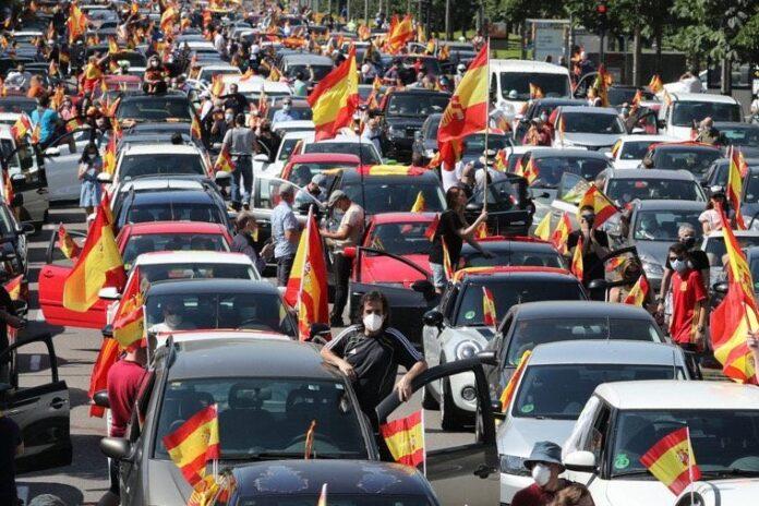 El estado de alarma permite prohibir manifestaciones 1