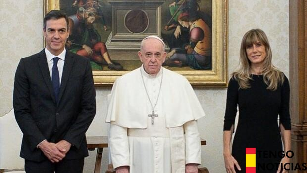 Pedro Sánchez se reúne con el Papa Francisco en el Vaticano 1