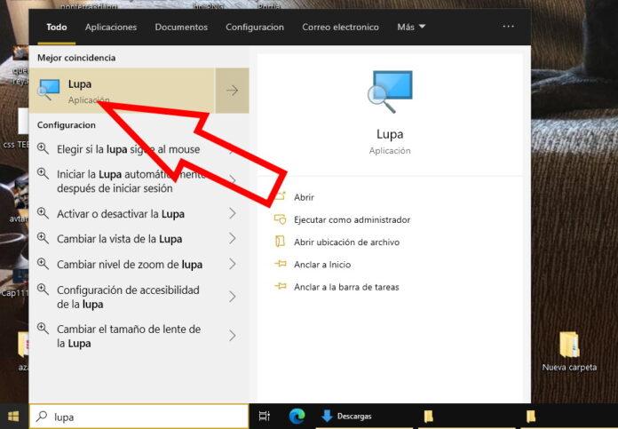 Como hacer zoom en windows 3