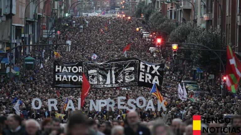 Increíble aumento de manifestaciones proetarras en el último año