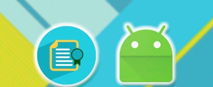 Como instalar certificado digital en Android 1