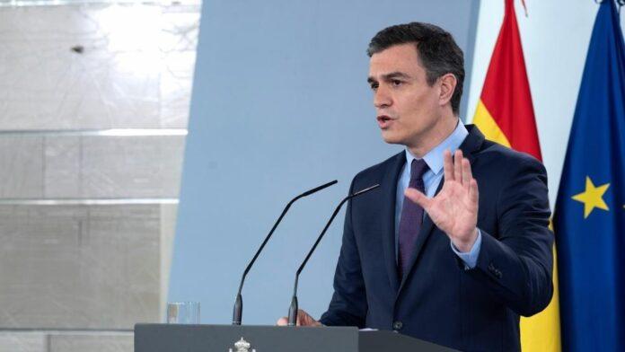 Sánchez se pronuncia en contra de los disturbios en Barcelona y en apoyo a las fuerzas de seguridad 1