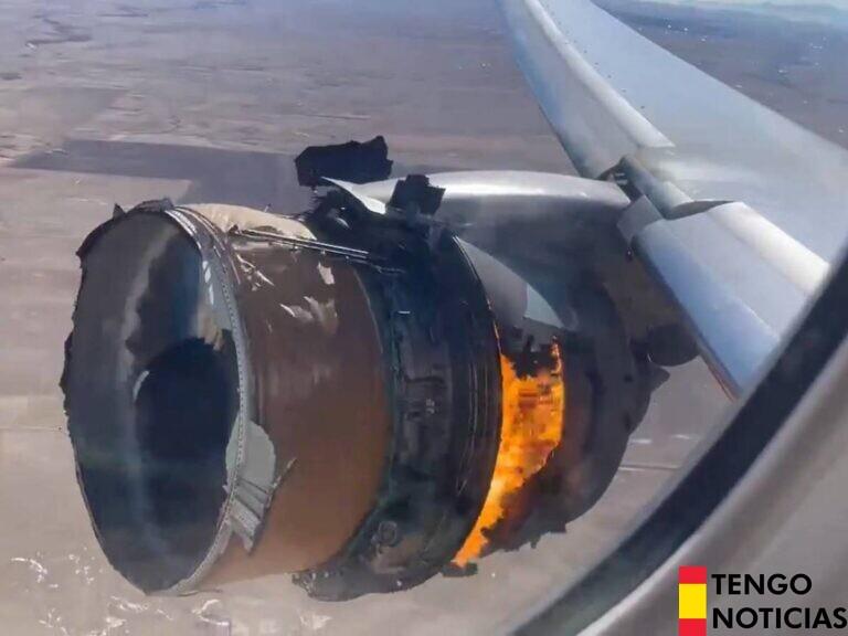 Boeing recomienda a las aerolíneas paralizar los vuelos de los modelos 777 tras el incidente en Denver