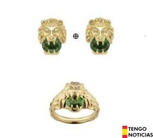 La llamativa colección de joyas de Gucci: Lion Head 1