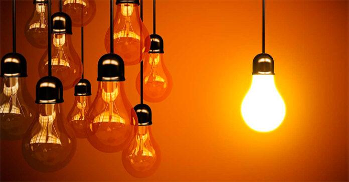 La luz baja un 21% en el mes de febrero 1