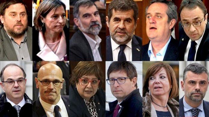 """El juez mantiene en semilibertad a los condenados por el """"procés"""" 1"""