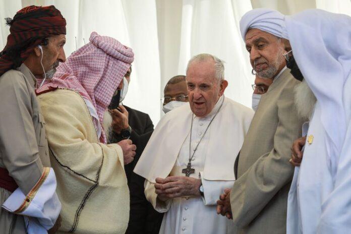 El Papa Francisco visita Irak 1