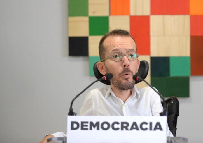 La fiscalía investigará a Echenique por su tuit a favor de los disturbios por Hásel 1