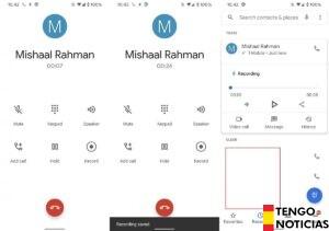 Ahora se graban las llamadas automáticamente en la aplicación Google Phone